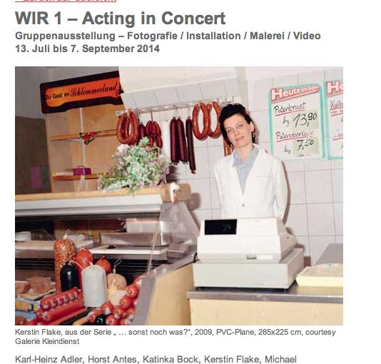 WIR 1 – Acting in Concert